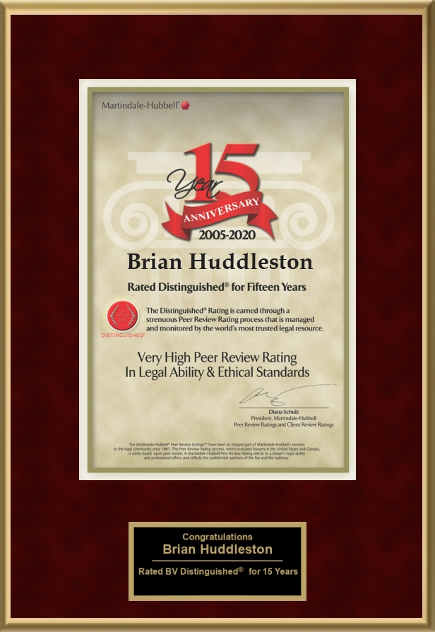 Martindale Hubbell Award 1